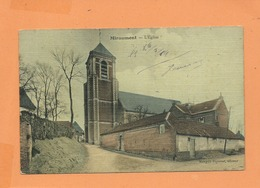 CPA - Miraumont  - L'église - France