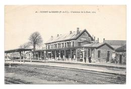 (23318-62) Achiet Le Grand - L'intérieur De La Gare - France