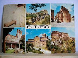 1971 - Rimini - S. Leo - Vedute - Castello - Duomo - Fontana - Rimini