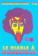 """Carte Postale """"Cart'Com"""" - Série Restaurant, Bar, Café - Thanksgiving '92 - Le Diable à Woodstock - Thanksgiving"""