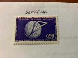 France Grand-Orient De France Lodge 1973 Mnh - France