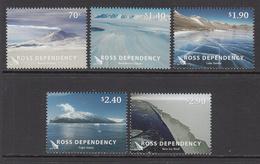 2012 Ross Dependency Tourism Scenery Geography Complete Set Of 5 MNH  @ 80% Of FACE VALUE - Dépendance De Ross (Nouvelle Zélande)