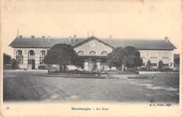GARES ( SNCF ) 45 - MONTARGIS : La Gare -  CPA - Loiret - Bahnhöfe Ohne Züge