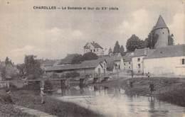 71 - CHAROLLES : La Semence Et Tour Du XV° Siècle  - CPA - Saône Et Loire - Charolles