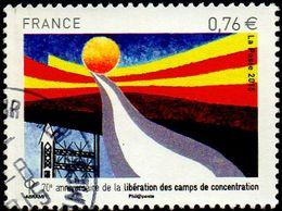Oblitération Cachet à Date Sur Timbre De France N° 4948  - Libération Des Camps De Concentration - France