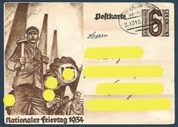 Allemagne - Nationaler Feiertag 1934 - Histoire
