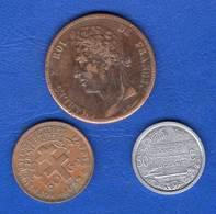 France  Colonie  3  Pieces - Colonies