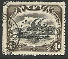 Papua 1910 (SG O33) Fine Used Single - Papua New Guinea