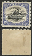 Papua 1910 (SG 78) MLH Single - Papua New Guinea
