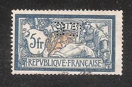 Perforé/perfin/lochung France Merson No 123 BP  Banque De Paris Et Des Pays Bas (143) - France