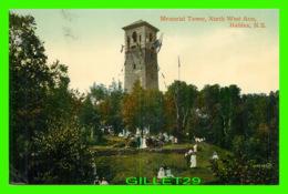 HALIFAX, NOVA SCOTIA - MEMORIAL TOWER, NORTH WEST ARM - ANIMATED -  THE VALENTINE & SONS PUB. CO LTD - - Halifax