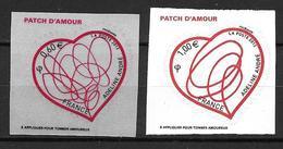 France 2012 Adhésif  N° 648/649 Neufs St Valentin Adeline André Cote 8 Euros - Adhésifs (autocollants)