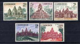 CAMBODGE - 167/171** - RUINES D'ANGKOR - Cambodge