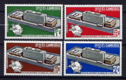 CAMBODGE - 238/241** - NOUVEAU SIEGE DE L'U.P.U. - Cambodge