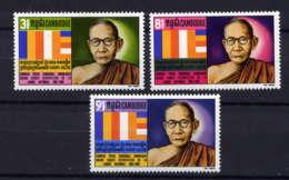CAMBODGE - 258/260** - SAMDECH PREAH SANGHARAJ CHUON-NATH - Cambodge