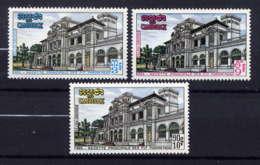 CAMBODGE - 261/263** - RECETTE PRINCIPALE DES P.T.T. - Cambodge
