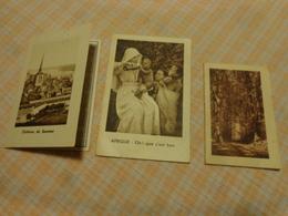 Lot De Petits Calendriers Publicite 1950-1951-1954-oeuvre Pontificale-pharmacie Labastie Pont L'abbe-brunet A.prudhon - Other