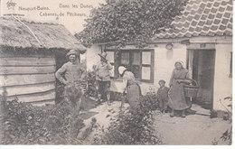 Nieuport Bains - Dans Les Dunes, Cabanes De Pêcheurs - Nieuwpoort