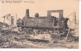 Nieuport Bains (1914-1918) - La Gare - Nieuwpoort
