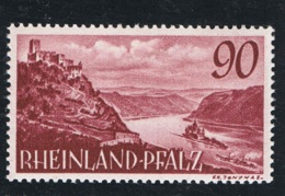 1949 Jan. Rheinland-Pfalz Mi DE-FRP 41 Sn DE 6N38 Yt DE-FRP 38 Sg DE-FR 41  Postfrich Xx - Französische Zone
