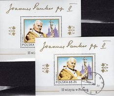 Papst-Besuch Paul II.1983 Poland Blocks 91 **/o 7€ Jasna-Gora-Kloster Hb Blocs M/s Churchs Sheets History Bf Polska - Blocks & Sheetlets & Panes