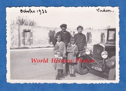 Photo Ancienne - VERDUN - Portrait De Famille Devant Une Automobile Peugeot 201 - Octobre 1932 - Cars