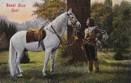 AK Behüt Dich Gott! - Pferd Und Edelmann (39679) - Pferde