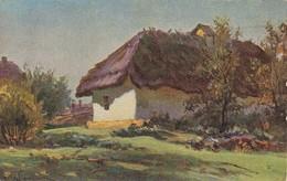 AK E. Wrjechtch - Morgensonne - Bauernhaus  (39680) - Paintings
