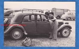 Photo Ancienne - Belle Automobile Citroën TRACTION Avec Galerie - Auto Camion Tub - Cars