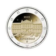 Pièce De 2 Euros Commémorative Allemagne 2019 : Bundesrat - Allemagne