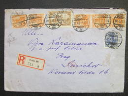 R-BRIEF Berlin - Prag Zensur Geöffnet 1921  ///  D*36766 - Allemagne