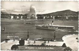 W1282 Geneve - La Rade Et Le Mont Blanc - Navi Ships Bateaux / Viaggiata 1950 - GE Ginevra