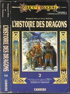 """LANCE-DRAGON N° 2 """" L'HISTOIRE DES DRAGONS """"  CARRERE  DE 1987 AVEC 420 PAGES GRAND-FORMAT - Livres, BD, Revues"""