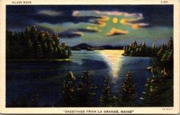 Maine Greetings From La Grange 1943 Curteich