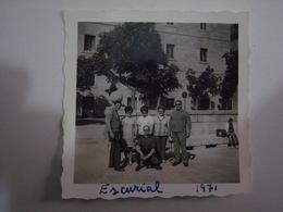1 Photo (ra5) - Spain Espana - Escorial - Anonymous Persons