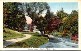 Maine Scene Near Clarks Mill Curteich