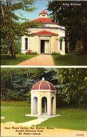 Maine Bar Harbor Abbe Museum & Sieur Monts Spring Curteich