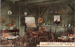 Maine Eliot Cheeryneuk Farm In The Tea Shed
