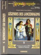 """LANCE-DRAGON N° 5 """" LEGENDES DES LANCEDRAGONS """"  CARRERE  DE 1988 AVEC 440 PAGES GRAND-FORMAT - Livres, BD, Revues"""