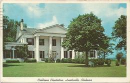 W1286 Alabama - Huntsville - Oaklawn Plantation / Viaggiata 1967 - Huntsville