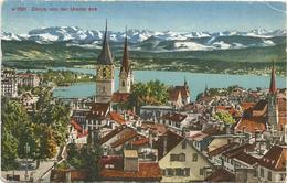 W1288 Zurich Von Der Urania Aus / Viaggiata 1947 - ZH Zurich