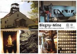 CPM - BLEGNY-MINE - Un Des 4 Sites Miniers Majeurs De Wallonie - Blegny
