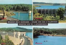 CPM - Bonjour Des 4 Barrages (Gileppe, Bütgenbach, Eupen, Robertville) - Belgique