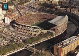 MADRID. ESTADIO VICENTE CALDERON. DOMINGUEZ, ED FISA. CIRCULADA CIRCA 1970s A BUENOS AIRES. TIMBRE ARRACHE - BLEUP - Stades