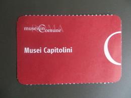 Ticket D' Entrée Italie Rome Musée Du Capitole Roma Musei Capitolini - 2018 - Tickets D'entrée