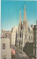 W1293 New York City - Saint Patrick's Cathedral / Viaggiata 1962 - Chiese
