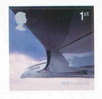GRANDE-BRETAGNE - 2002 - TP  Autoadhésif  YT 2333  - SG N°2290 - NEUF  LUXE ** MNH - Aviation, Concorde - Unused Stamps