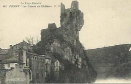 (A) Penne : Les Ruines Du Chateau - France