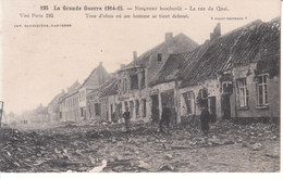 Nieuport (1914-1915) - La Rue Du Quai - Nieuwpoort