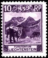 Liechtenstein 1930 10r Perf 10½ Unmounted Mint. - Unused Stamps